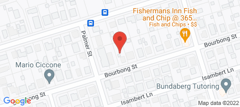 Location map for 379 Bourbong Street Millbank