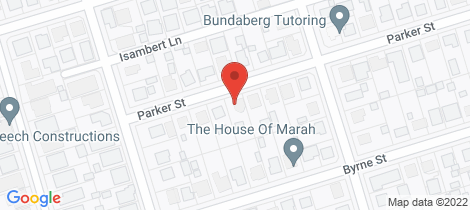Location map for 34 Parker Street Millbank