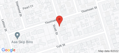Location map for 2 Scott Street Millbank