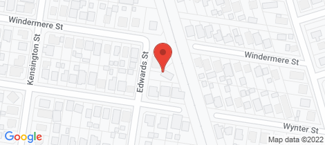 Location map for 2 Edwards Street Norville