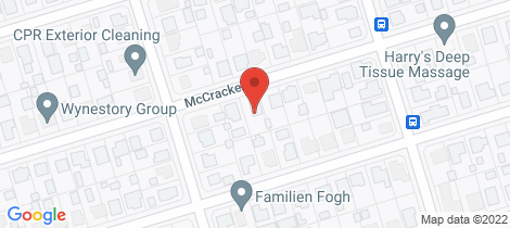 Location map for 26 McCracken Street Walkervale