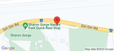 Location map for 19 Pindari Park Sharon