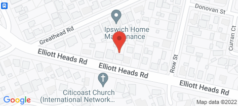 Location map for 113 Elliott Heads Road Kepnock