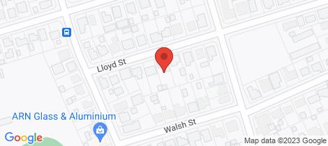Location map for 12 Lloyd Street Walkervale