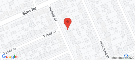 Location map for 8 Hussey Street... Avenell Heights