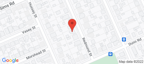 Location map for 15 Redmond Street Avenell Heights