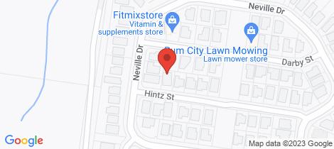 Location map for 22 Hintz Street Branyan