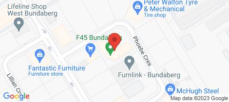 Location map for 5/6 Phoebe Crescent Bundaberg