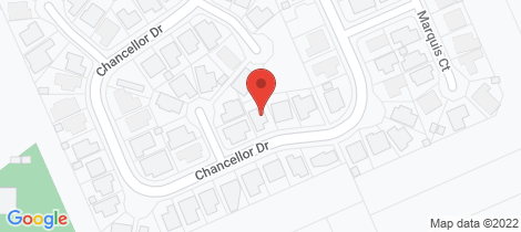 Location map for 35 Chancellor Drive Avenell Heights