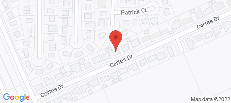 Location map for 53 Cortes Drive Thabeban