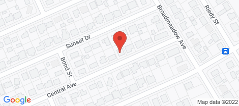 Location map for 10 Central Avenue... Thabeban