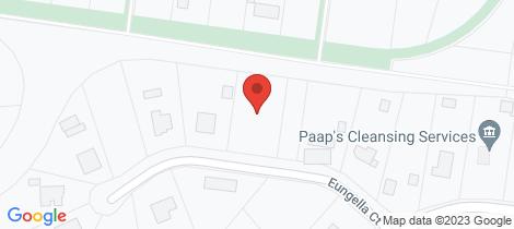 Location map for 12 Eungella Court... Branyan