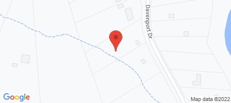 Location map for 130 Davenport Drive Coonarr