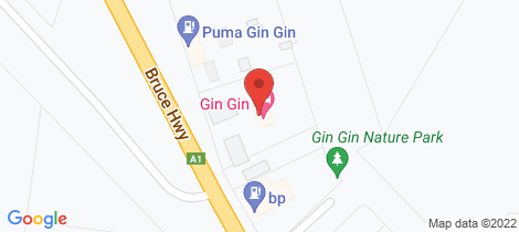 Location map for 4 Mulgrave Street Gin Gin