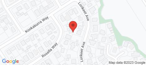Location map for 22 Lorrikeet Avenue Woodgate