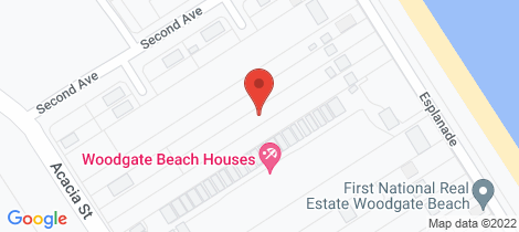 Location map for 154 The Esplanade Woodgate