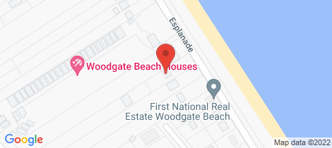 Location map for 149 The Esplanade Woodgate