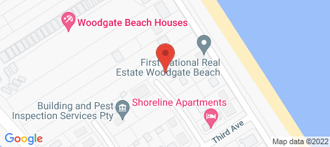 Location map for 2/10 Poinciana Court Woodgate