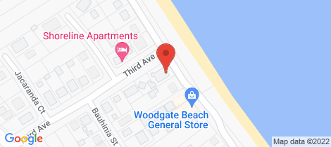Location map for 4/139 The Esplanade Woodgate