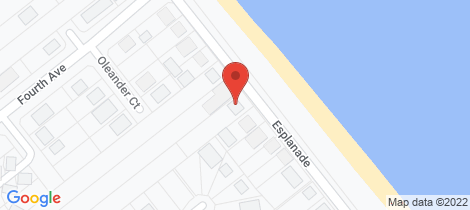 Location map for 118 Esplanade Woodgate