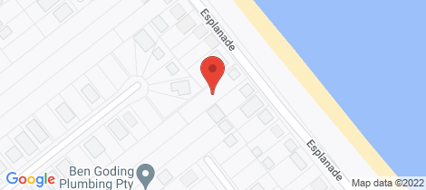 Location map for 112 Esplanade Woodgate
