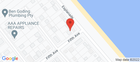Location map for 101 Esplanade Woodgate