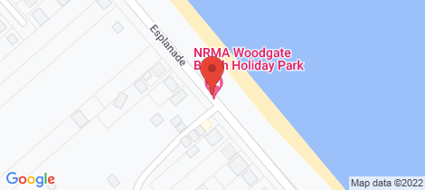 Location map for 87 Esplanade Woodgate