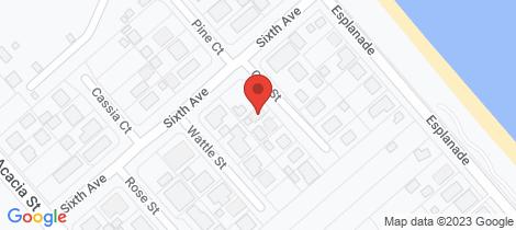 Location map for 1/11 Oak Street Woodgate
