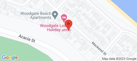 Location map for 2/81 Mackerel Street Woodgate