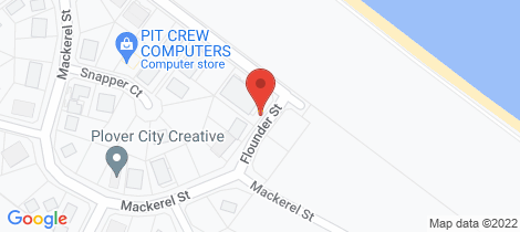 Location map for 5/17 Barramundi Drive Woodgate