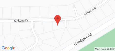 Location map for 2 Lagoon Court Woodgate