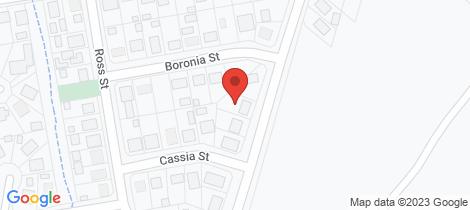 Location map for 37 Burrum Heads Rd Burrum Heads