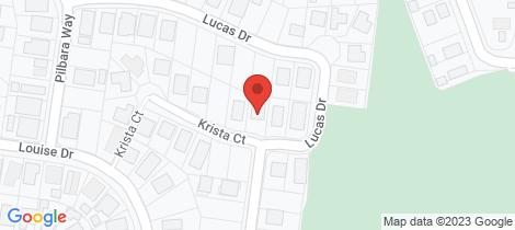 Location map for 1 Krista Court Burrum Heads
