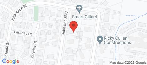 Location map for 85 Johnston Blvd Urraween