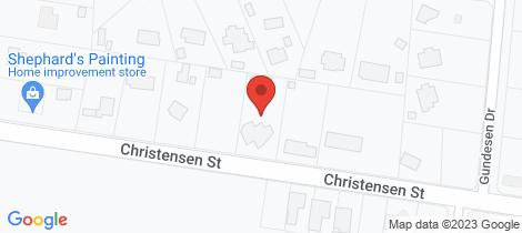Location map for 123 Christensen St Urraween