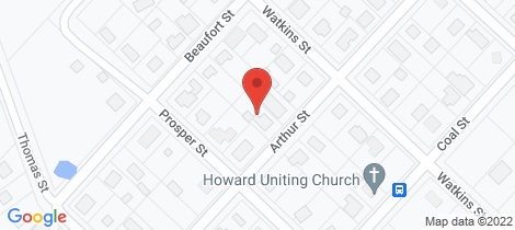 Location map for 19 Arthur Street Howard