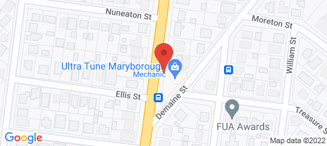 Location map for 51 Saltwater Creek Rd Maryborough