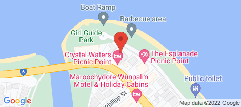Location map for 16/12-14 Picnic Point Esplanade Maroochydore