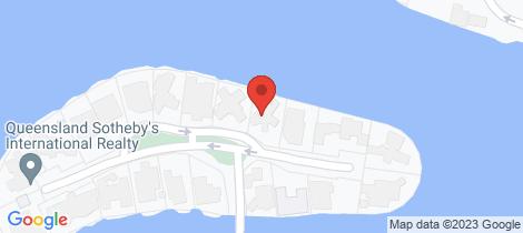 Location map for 15 Minyama Island Minyama