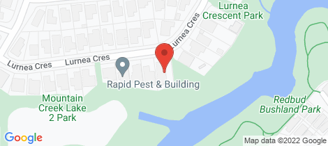 Location map for 45 Lurnea Crescent Mountain Creek