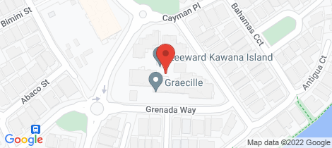 Location map for 31/1 Grenada Way Kawana Island