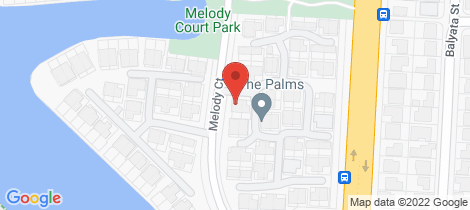 Location map for 57/10 Melody Court Warana