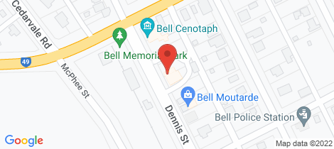 Location map for 29 Dennis Street Bell