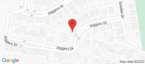 Location map for 18 Diggers Drive Dalby