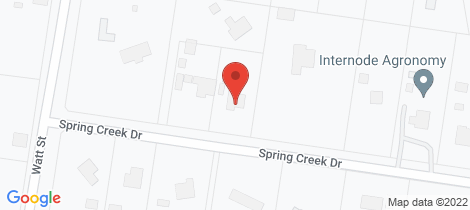 Location map for 17 Spring Creek Drive Dalby