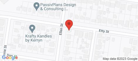 Location map for 2 Ellen Street Dalby