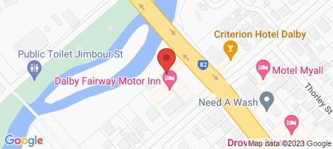 Location map for 10/66 Drayton Street Dalby
