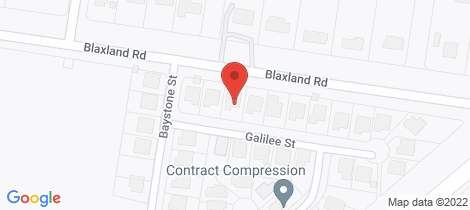 Location map for 5 Galilee Street Dalby
