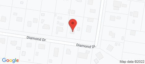 Location map for 51 Diamond Drive Dalby
