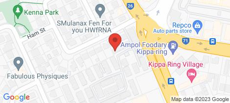 Location map for 26/439 Elizabeth Avenue Kippa-ring